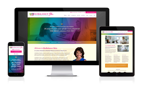 BioBalance Skin New Website